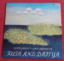KEITH JARETT  JACK DEJOHNETTE  LP ECM ORIG ALLEMAND RUTA AND DAITYA