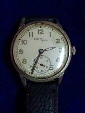 Vintage ZENITH Sporto 1950 - 1959 Wrist Watch Chrome Case RARE!!