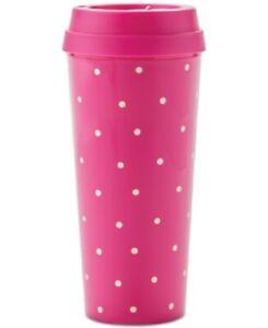 Kate Spade New York Thermal Mug Larabee Dot Pink