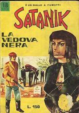 SATANIK N.18 - SETTEM 1965 LA VEDOVA NERA MAGNUS
