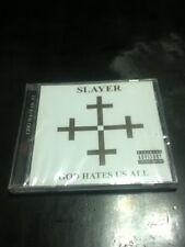 slayer god hates us all cd 2001 american recordings factory sealed thrash metal