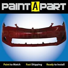 2012 2013 2014 Toyota Camry Front Bumper Cover Painted  3R3 Barcelona Red Mica