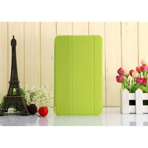 """For 7"""" Samsung Galaxy Tab 4 7.0 Magnetic Smart Cover Stand Leather Case"""