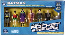 DC DIRECT POCKET SUPER HEROES Collection_BATMAN Box Set 6 figures plus Bonus_MIB
