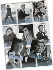 "James Bond 50th Anniversary Series 1: 11 Card ""Bond, James Bond"" Set BJB12-22"