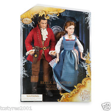 NEW Disney - Beauty and the Beast Film Collection - Belle and Gaston Doll Set