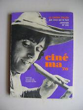 Cinéma n° 205 - 1976 - Cinéma italien