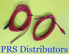 2 RCA Female to 2 Bare Speaker Wire for High Level Signal Connection to Amp 12Ft