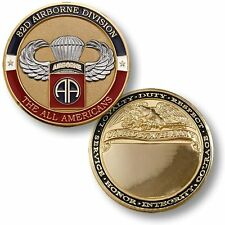 U.S. Army / Fort Bragg 82nd Airborne Basic Jump - Challenge Coin