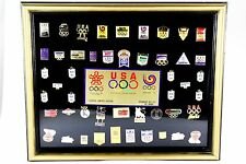Official Classic Limited Edition 1988 Olympic International Flag Pin Set