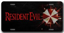Resident Evil License Plate  Auto Tag/Room Sign play station xbox 360 video game