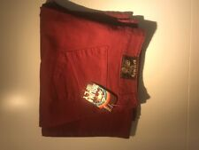 Red Hot Sexy Trousers Size 14 With Tags Flares