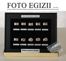 THE LEGENDARY NIKONS spille pins Nikon Vintage Rare Collezione ORIGINALE NUOVO