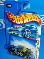 Hot Wheels 2004 First Editions #84 Off Track Black w/ 5SPs