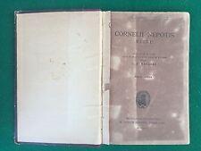 CORNELII NEPOTIS VITAE Fumagalli , Aedibus Albrighi Segati (1919) Libro Latino