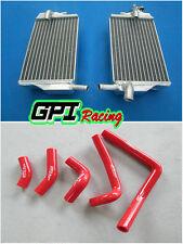 FOR Honda CR250 CR250R CR 250 R 2002-2004 2003 2004 02 03 radiator and red hose