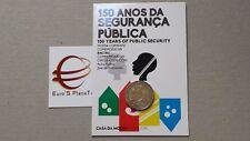 Coin card 2 euro 2017 Portogallo Portugal 150 corpo Polizia polícia portuguesa