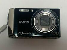Sony Cybershot 14.1 Megapixel Digital Camera DSC-W370 Black Untested