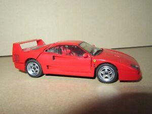 916Q Herpa 01000 Germany Ferrari F40 1987 Red 1:43 Grand Tourism