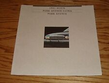 Original 1991 Buick Park Avenue & Ultra Deluxe Sales Brochure 91