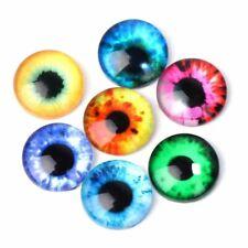 5 Different Pairs Glass Dolls Eye 12 mm DIY Handcraft Animal Eyes Accessories