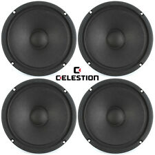 "Celestion TF0818MR 8"" inch Pro Midrange Sealed Closed Back Speakers Voice, 4 pcs"