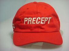 NEW OEM Red Precept Golf Visor Tour Premium w/wht letters & adj. closure (B405)