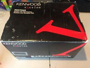 KENWOOD EXCELON DDX7015 MONITOR CAR AUDIO CD DVD RECEIVER DDX-7015