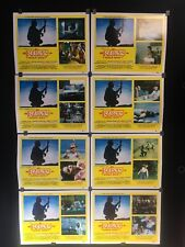 Lot With 8 El Narco Duelo Rojo Vintage Mexican Lobby Cards W/orig Envelope-A103