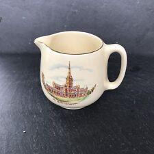 Crown Devon Pottery Jug Salisbury Cathedral 2.75 Inch Vintage Jug