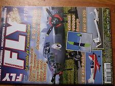 $$v Revue Fly International N°119 Plan encarte Tarasboula  B 25 Mitchell  ASW 28
