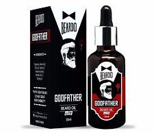 BEARDO GODFATHER Lite Beard & Mustache Oil - 30ml Fragrance and Nourishment
