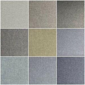 High Quality Sierra Soft Grain Linen Like Weaved Upholstery Fabric Material Sofa