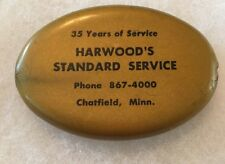 Chatfield Minnesota HARWOOD'S STANDARD SERVICE Gas Station Coin Purse
