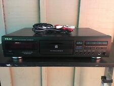 Teac CD-RW890MKII CD Recorder & RCA - Tested & Working + Remote