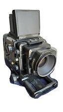 Fuji GX680 Medium Format Camera w/GX 180mm/f-5.6 lens, Film Back, & Battery Pack