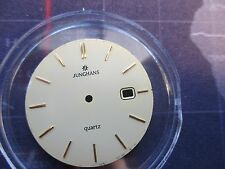 junghans quartz, watch dial date, used  watch part
