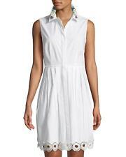 6a7b6951632 T Tahari Melitta Sleeveless Embellished Shirt Dress  148 Size 2   7A 688 Blm