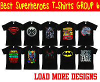 Best Superheroes T-Shirt, Marvel Comics Hulk Thanos Thor Birthday Kid Adults Top