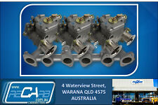 Datsun 240Z 260Z 280Z L28 GENUINE WEBER Triple 40 DCOE Sidedraft Carburettor Kit