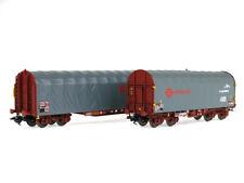 Coffret 2 wagons bâchés Ermewa Ep VI SNCF - HO - MARKLIN 47102