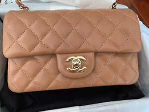 Chanel 21P Caramel new RARE UNICORN Only One On Market