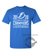 2020 Stanley Cup Champions Tampa Bay Lightning T Shirt Design Adult Sm-3Xl