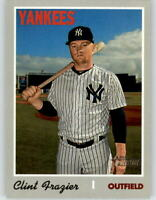2019 Topps Heritage High Number CLINT FRAZIER Short-Print SP Yankees #708