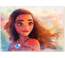 "LIMITIERTER DRUCK ""See the light as it shines on the sea"" PRINT ART MOANA VAIANA"