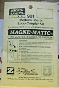 MICRO-TRAINS Z SCALE MAGNE-MATIC MEDIUM SHANK LOOP COUPLER KIT #901
