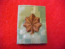US Navy Type III Type 3 Green Digital  O-4 rank tab for blouse & parka