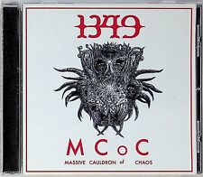 1349- MCOC Massive Cauldron Of Chaos CD (2014) Black Metal Pantheon I/Satyricon