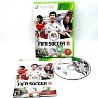 EA Sports Fifa Soccer 11 Microsoft Xbox 360 Complete Very Good Tested