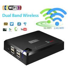 Mecool KI Pro DVB-S2+T2+C Satellite TV Receivers Android7.1 TV Box Amlogic S905D